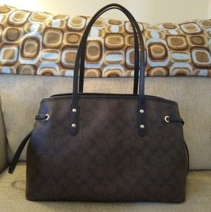 Coach Bags - 🍁BNWOT Authentic Coach Drawstring Carryall🍁